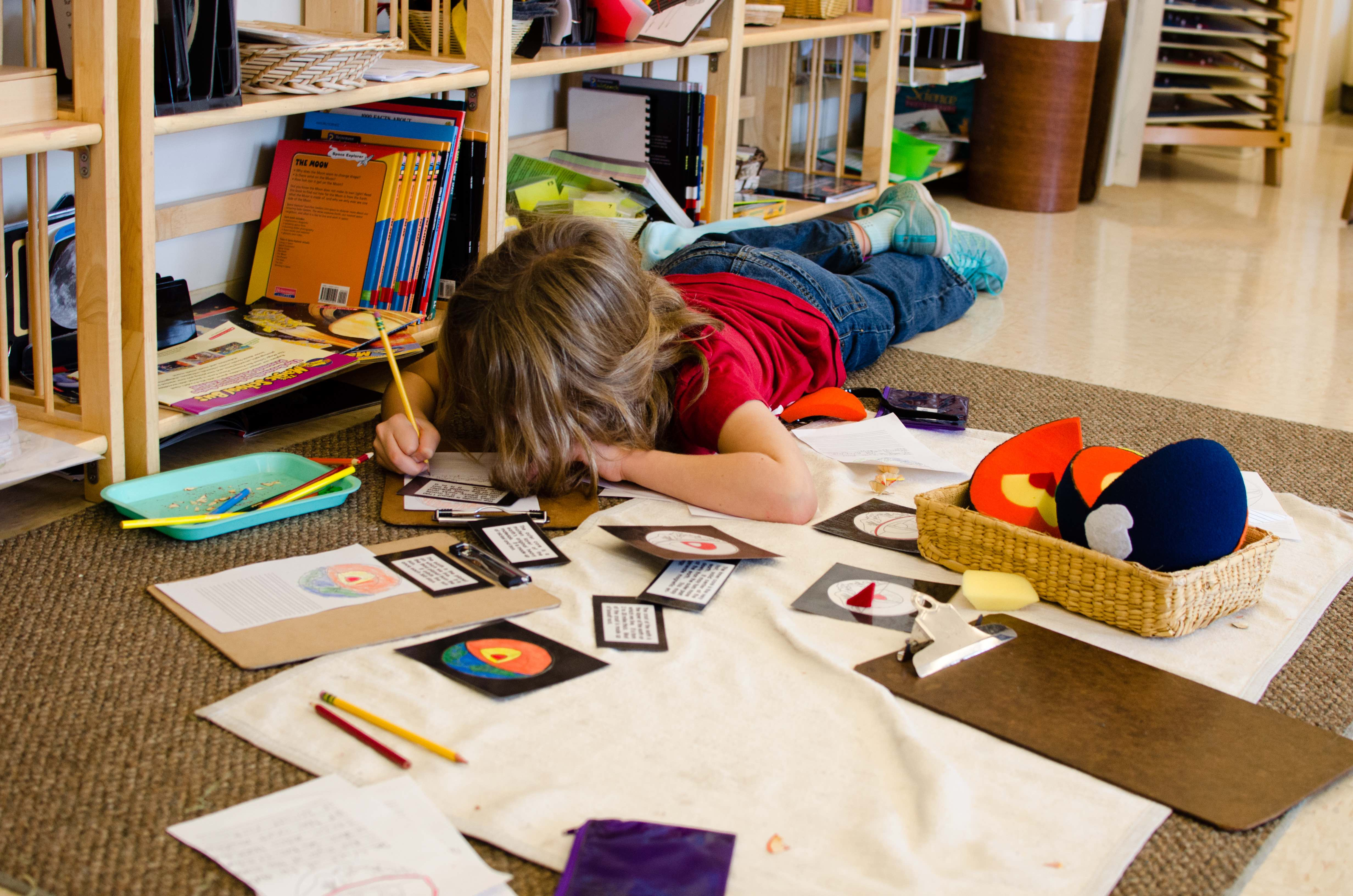 How to organize the learning space of the child